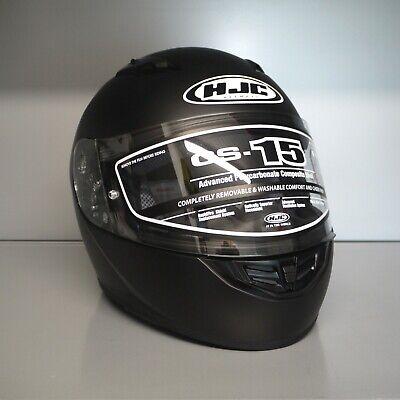 en Motorradhelm CS-15 SchwarzMatt Integralhelm Helm Motorrad (Mark Helme)