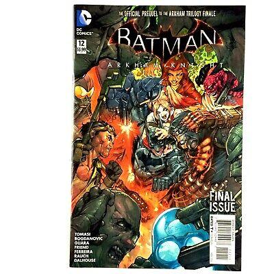 Batman Arkham Knight #12 DC 2016 NM Harley Quinn Deathstroke Bane Final Issue