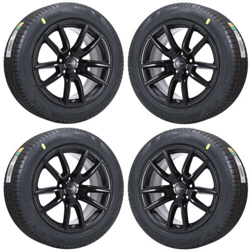 20x10 Dodge Durango Srt Black Wheels Rims Tires Factory Oem Set 2018 2019 2626
