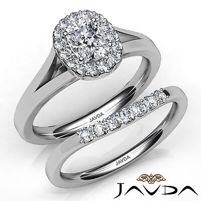 0.93ctw Cathedral Style Bridal Cushion Diamond Engagement Ring GIA E-VS2 W Gold
