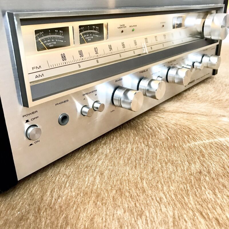 Pioneer SX-680 AM/FM Receiver Warm White LED Upgrade ~Tested~