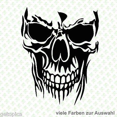 Skull Aufkleber Totenkopf Schädel Sticker Halloween Punisher 2344-15
