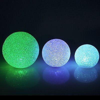 Snow Crystal LED Ball Light Centerpiece, Multi-color - Light Balls