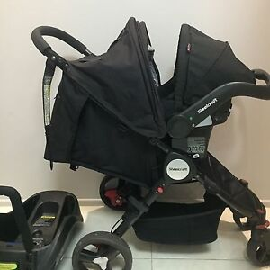 STELLCRAFT AGILE STROLLER + CAR CAPSULE Southport Gold Coast City Preview