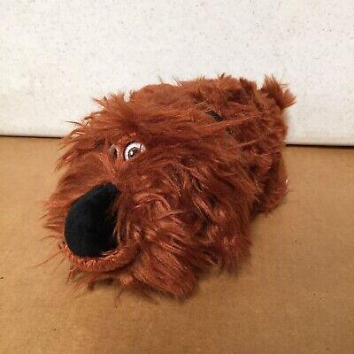 "TY Baby Plush Stuffed Animal 8"" Long DUKE the Mongrel Secret Life of Pets AR106"