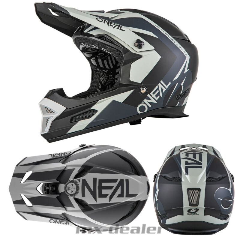 designer fashion authentic outlet on sale Détails sur O'Neal 19 Fury Rl Hybride Noir Casque Freeride / Vtt Dh  Downhill Go Pro Support