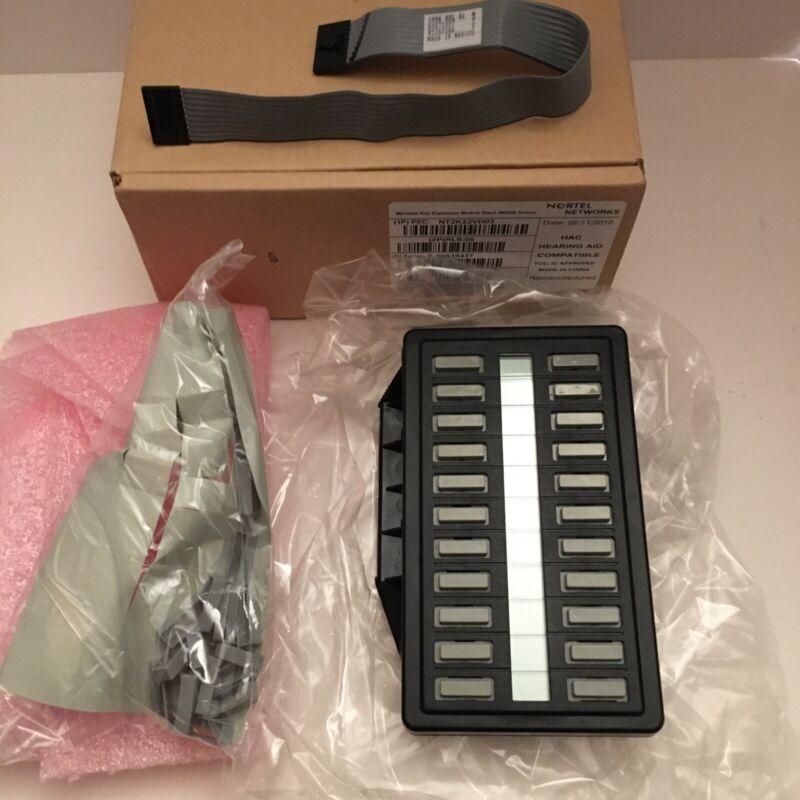 Nortel Nt2k22vh03 Meridian M2616 22 Button Key Expansion Module