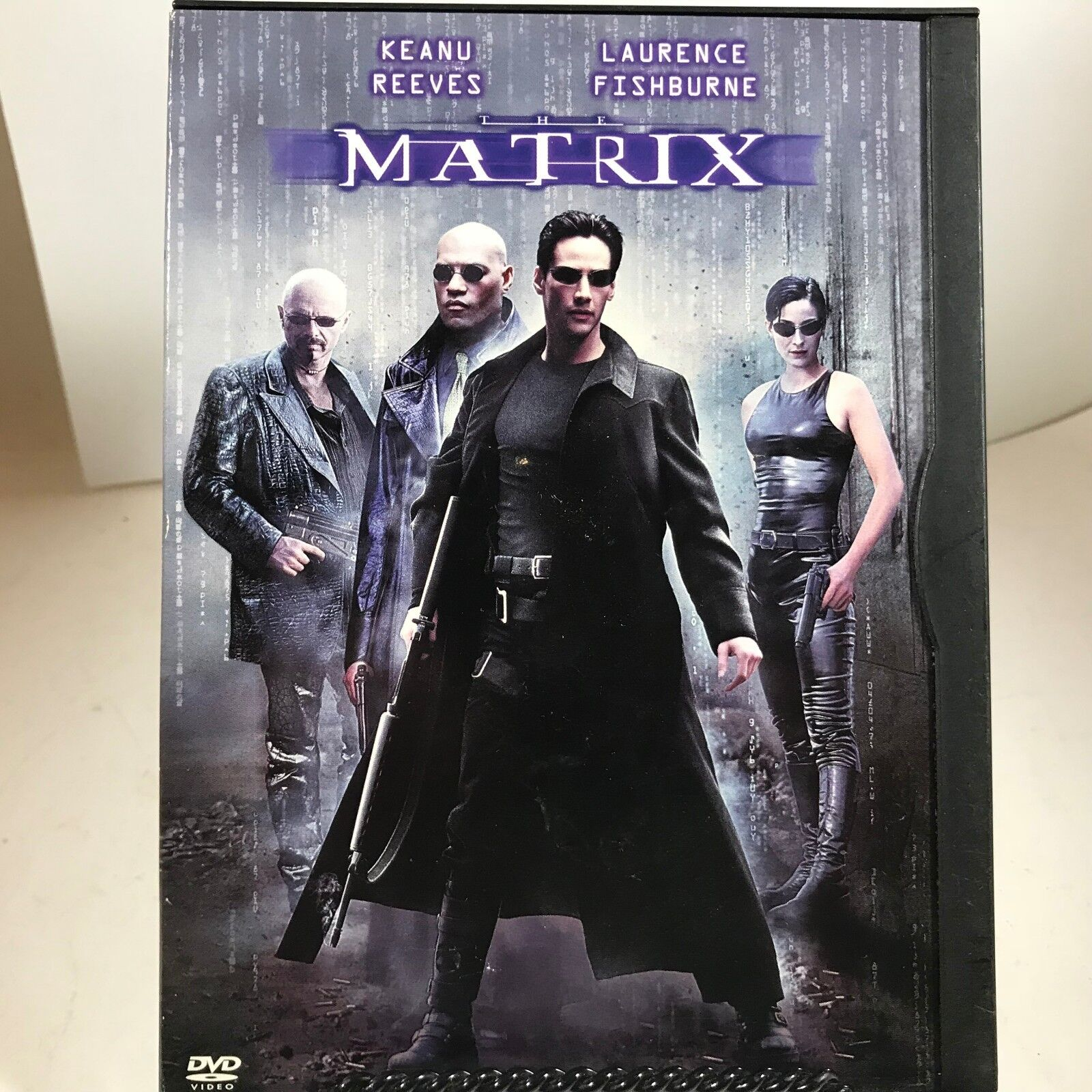 DVD - The Matrix - Keanu Reeves, Laurence Fishburne - $2.33