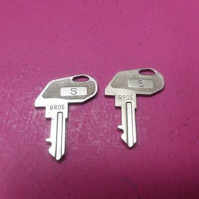 Parting Tec Ma-600 Cash Register 2 S Keys 9r05 Ffa-0049004 Tc24