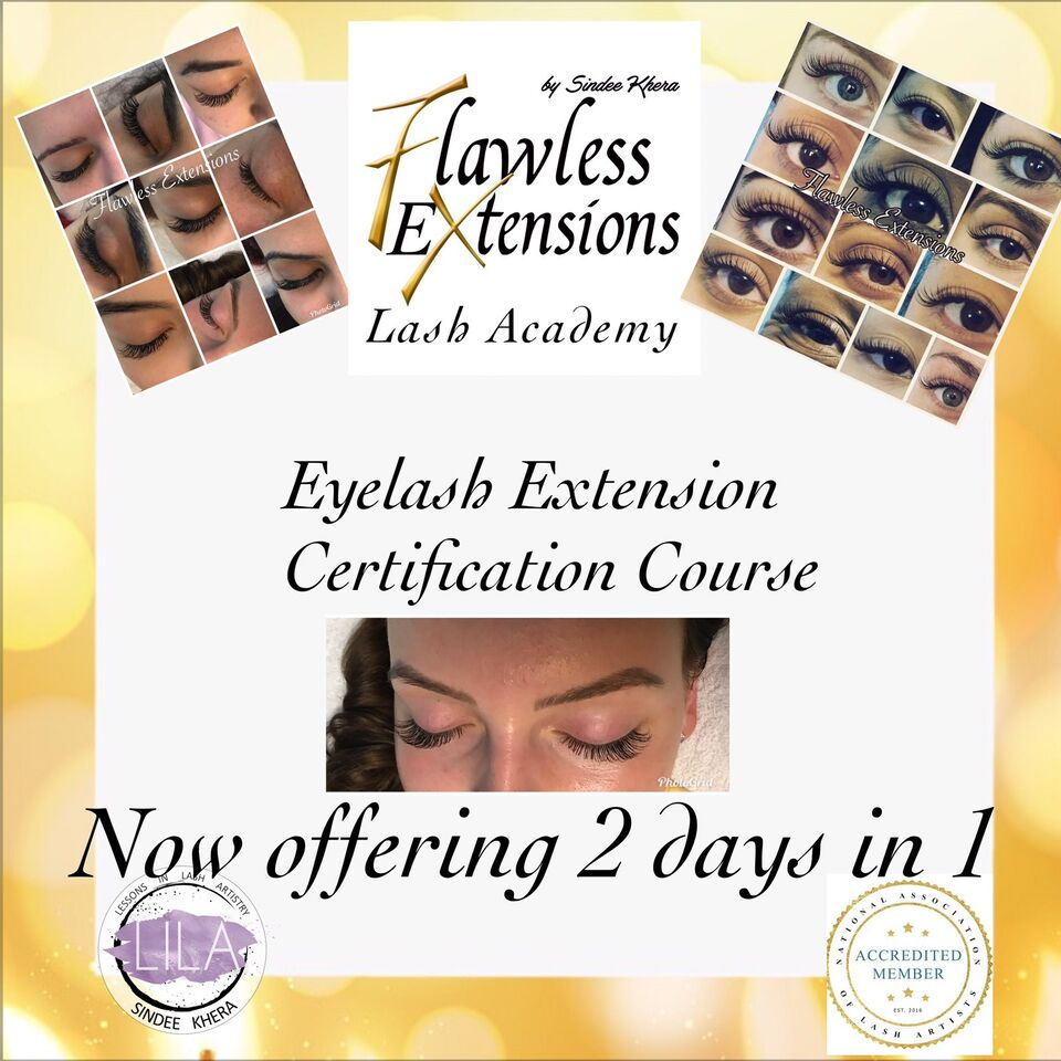Accredited Eyelash Extension Certification Training 500 Health