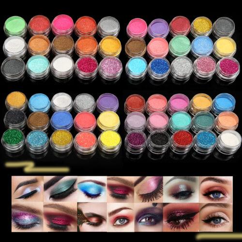 15/30 Mix Color Loose Eyeshadow Pigment Powder Satin Glitter