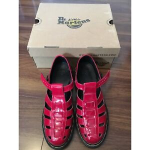 Dr. martens Red buckle shoes Endeavour Hills Casey Area Preview