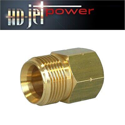 Hochdruck  Verschraubung M22 Überwurf x 1//2 Zoll   Verschraubung M22 x 1//2 Zoll