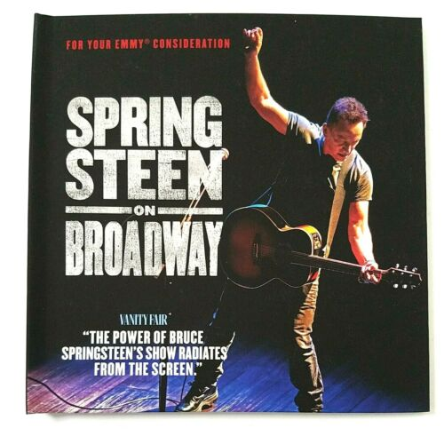 Bruce SPRINGSTEEN ON BROADWAY DVD Netflix FYC 2019 Documentary  VERY RARE