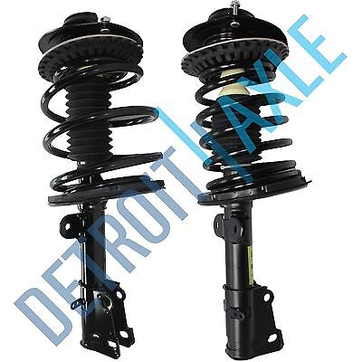 Both (2) NEW Complete Front Left & Right Strut W/ Spring & Mounts Quick Assembly