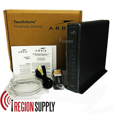 NEW Arris Touchstone TG2472G Docsis 3.0 Wifi Moca Telephony Cable Modem TG2472