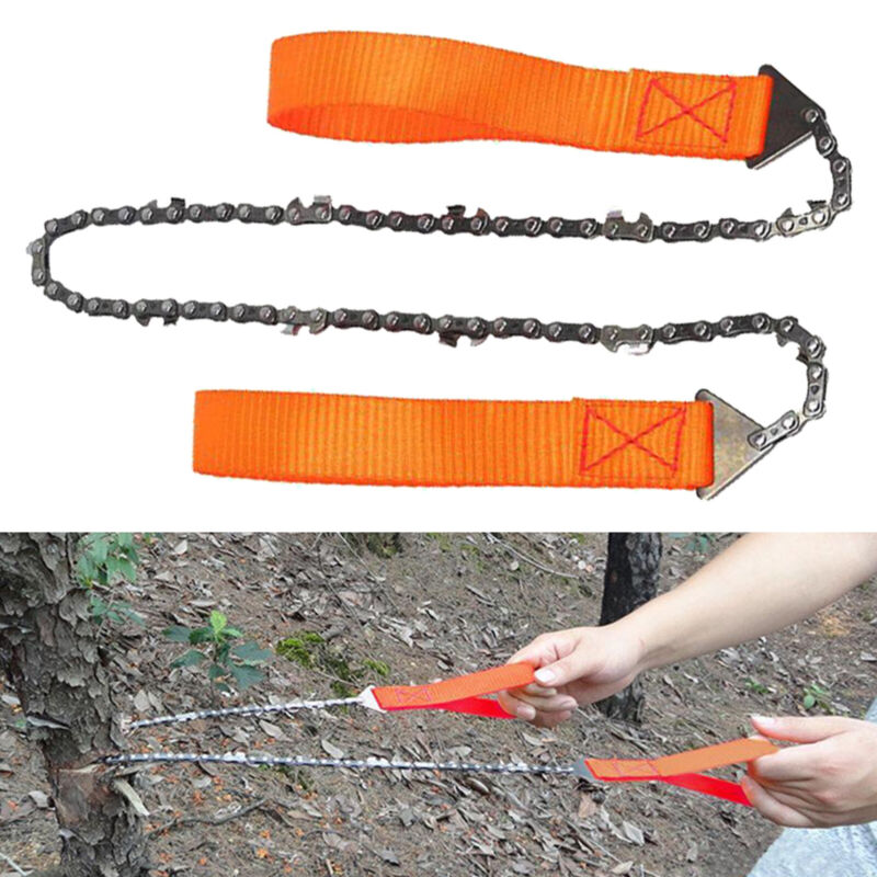 Outdoor Hand Wire Saw Pocket Flexible Chainsaw Camping Hiking Emergency Survival