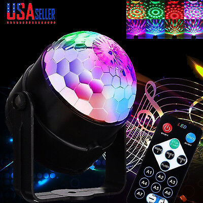 Disco Party Lights Strobe Led Dj Ball Sound Activated Bulb Dance Lamp - Disco Party