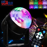 Disco Party Lights Strobe Led Dj Ball Sound Activated Bulb Dance Lamp Decoration