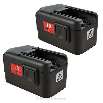2 x NEW 18Volt  BATTERY for MILWAUKEE 18V 48-11-2200 48-11-2230 2232 -