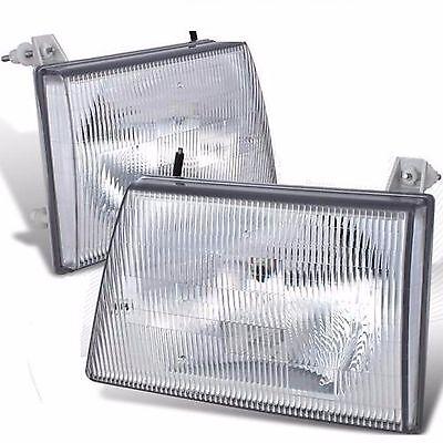 JAYCO EAGLE 1997 1998 1999 HEADLIGHTS HEAD LIGHT FRONT LAMPS RV - SET