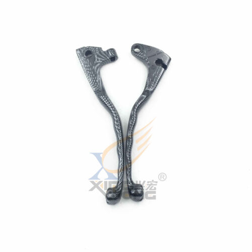 Carbon Skull Brake Clutch Levers For Yamaha Virago XV 250