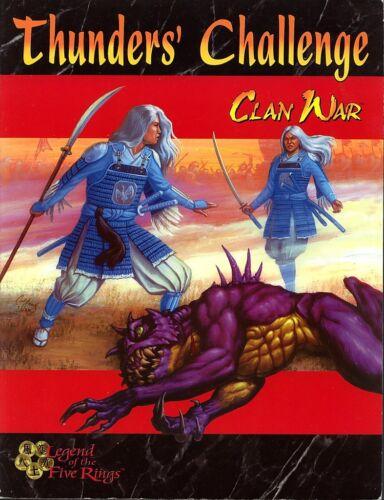 Clan War Thunders Challenge SC VG L5R