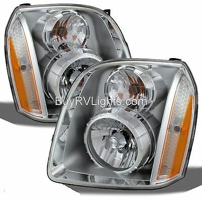 FLEETWOOD DISCOVERY 2014 2015 2016 PAIR FRONT HEAD LIGHT LAMP HEADLIGHT RV NEW