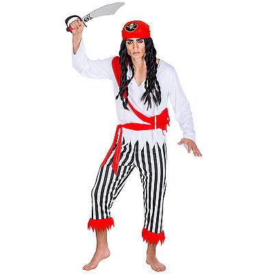 Herrenkostüm Pirat Kapitän Seeräuber Fasching Kostüm Karneval Piratenkostüm  ()