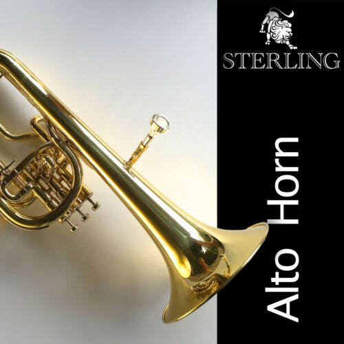 STERLING SWAH-22 Eb Alto Horn • Excellent Quality • Brand New • With Case •