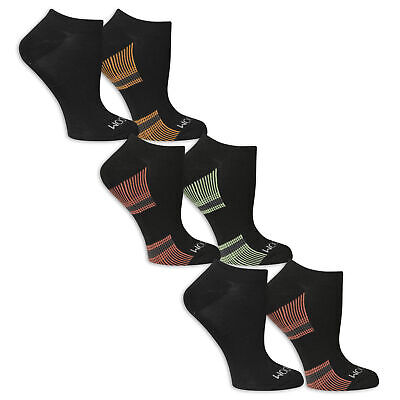 Fruit of the Loom Women's No Show Socks 6 Pairs
