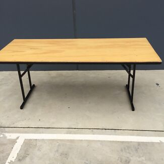 Trestle Table Flat Fold for Functions and Events Tullamarine Hume Area Preview