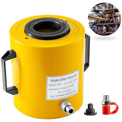 Hydraulic Cylinder Jack Hollow Ram Hydraulic Cylinder 100t 3 Lifting Cylinder