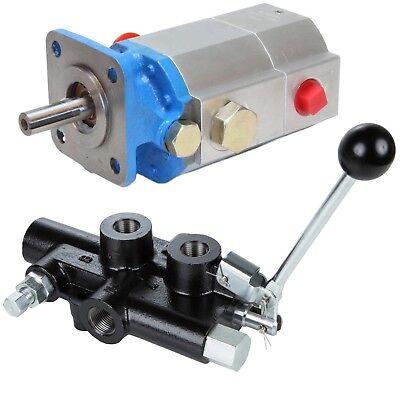 Log Splitter Hydraulic Kit, 16 GPM 2-Stage Pump & 25 GPM Det