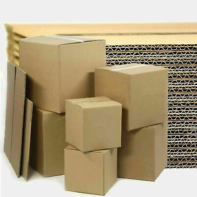 40 STRONG SINGLE WALL CARDBOARD BOXES 8