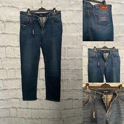 "Atelier Gardeur ""Black Rivet"" Denim Jeans, 36R, Modern Fit, 36W,32L,BNWT."