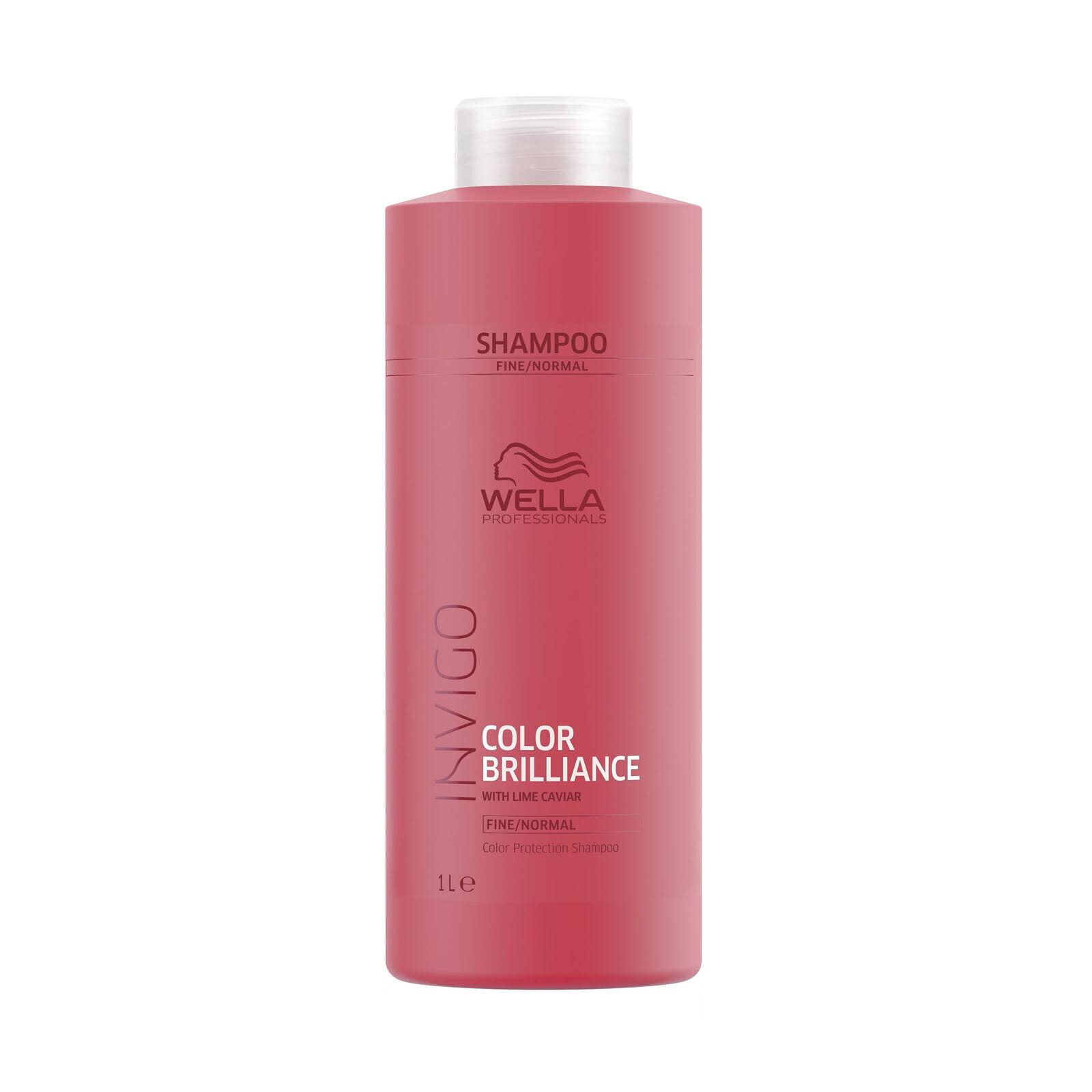 Wella INVIGO Color Brilliance Protection Shampoo feines & normales Haar 1000 ml
