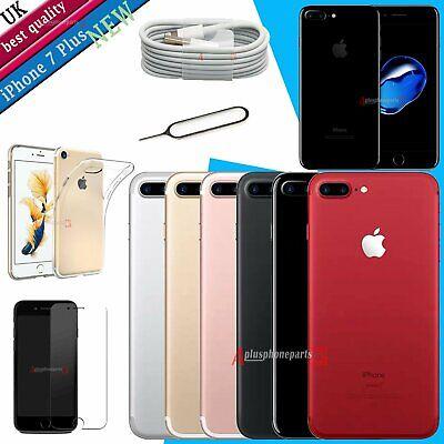 New Apple iPhone 7 Plus - 32GB 128GB 256GB - SIM Free Unlocked Smartphone UK