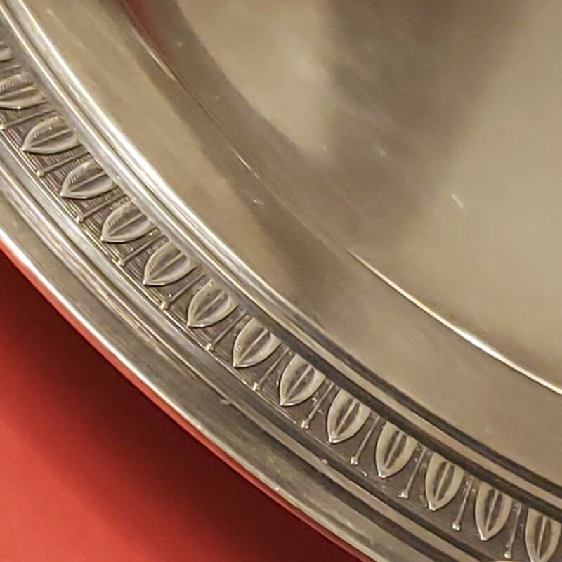 """Vintage Cristofle French Silverplate Dish 6.5"""" Silver Plate France"""
