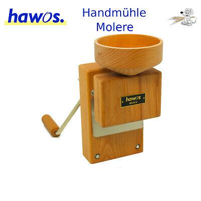 Hawos Molere Handmühle Getreidemühle mit Mahlstein