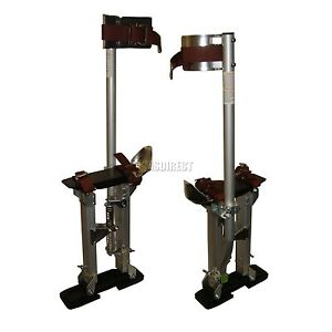 FoxHunter-Quality-Builders-24-to-40-Stilts-Drywall-Plastering-Aluminium-New