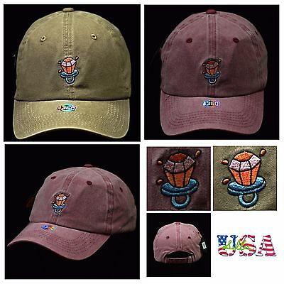 Ring Pop Dad Hat Plain Baseball Cap Unstructured Fashion Hats Casual Cotton Cap