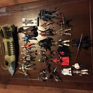 Star Wars collectable figure lot