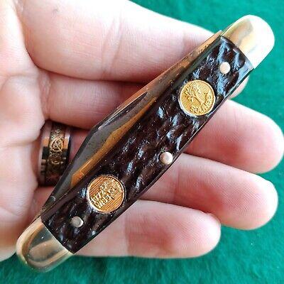 Vintage Antique Boker Tree Brand Germany 7588 Premium Stockman Pocket Knife