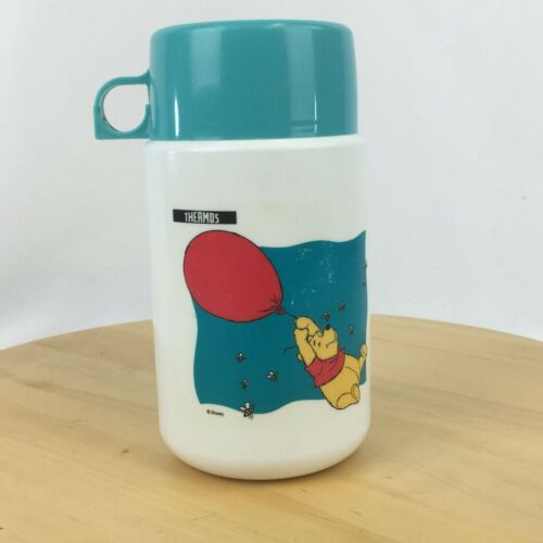 Vintage Winnie The Pooh Childrens Lunch Box Thermos Model #3700