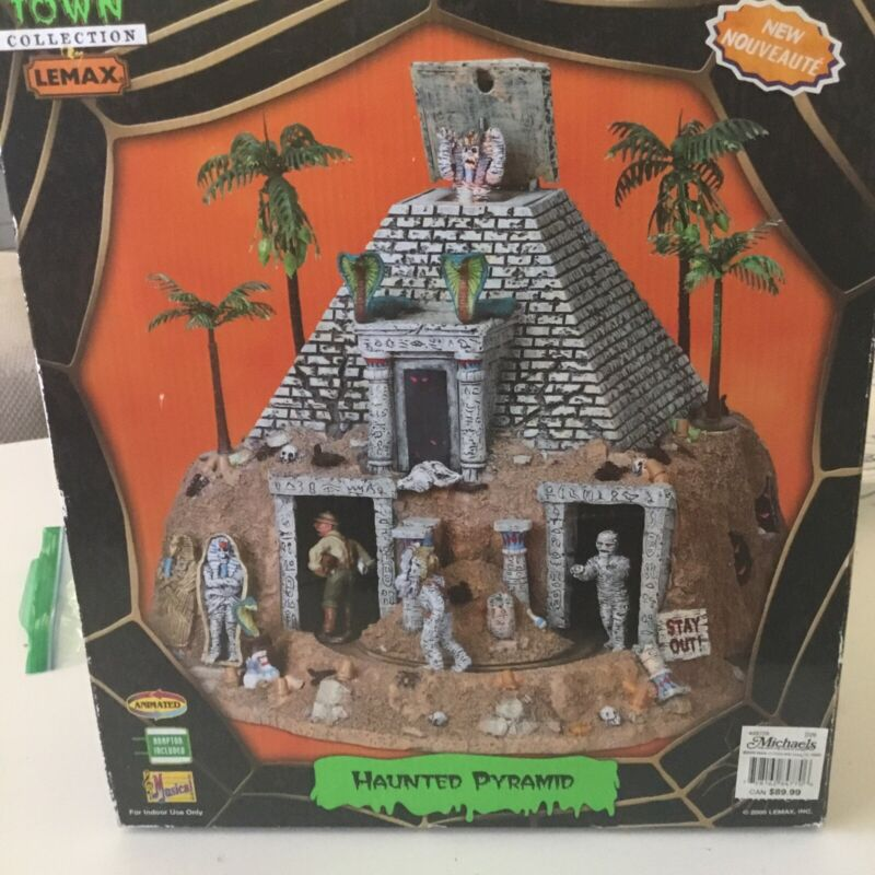 Lemax Haunted Pyramid Halloween Spooky Town Collection RARE