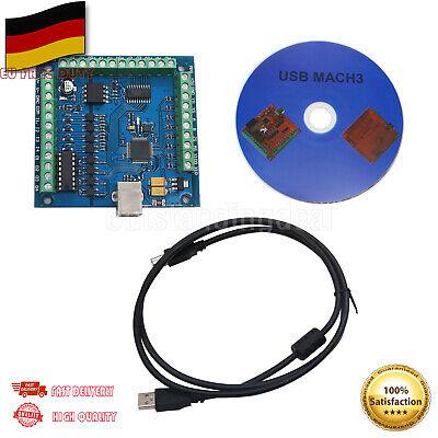 MACH3 4-Axis 100KHz USB CNC Controller Card Smooth Stepper Motion Control DE SHI Axis Motion Controller