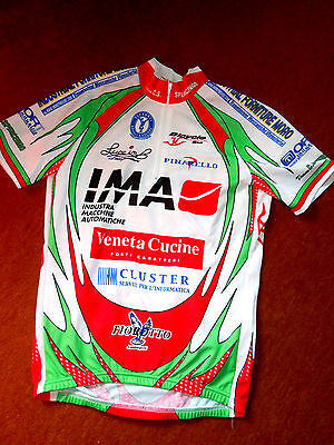 ital. Radrenntrikot BICYCLE LINE Gr. S chices Design; Team C.S.Spercenigo, neuw.