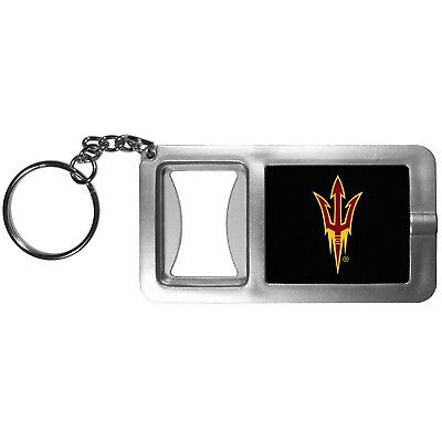 Arizona State Sun Devils Flashlight Key Chain with Bottle Opener NCAA (Devils Ncaa Bottle Opener)