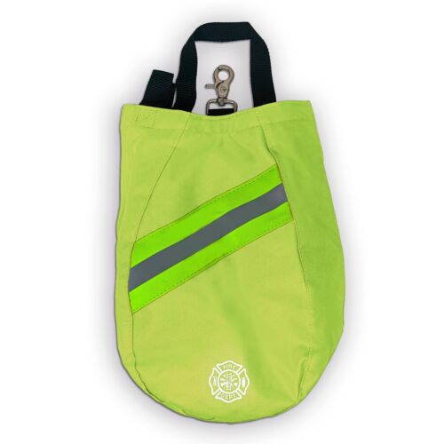 SCBA Mask Bag, Deluxe Version, Yellow, Firefighter, ISI, EMT, Fire, Respirator